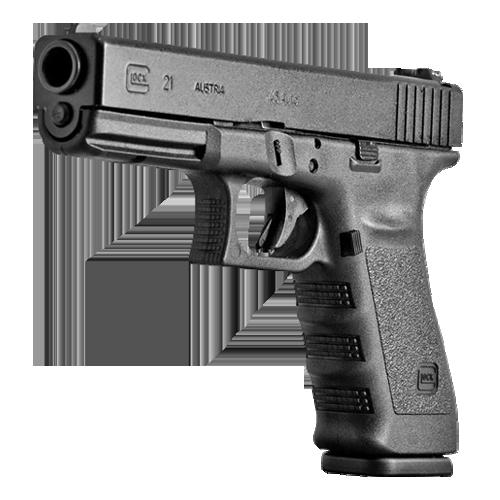 Glock 21, Gen 4 13+1 .45 ACP Pistol, Black Frame – J&B Firearm Sales Inc